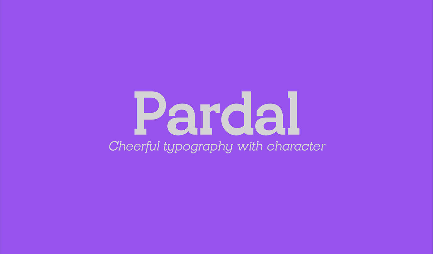 Free Download: Pardal Regular & Italic
