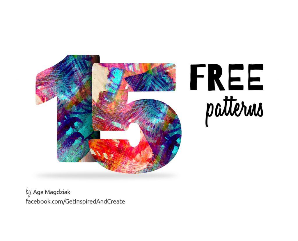 Free Download: 15 Unique Patterns