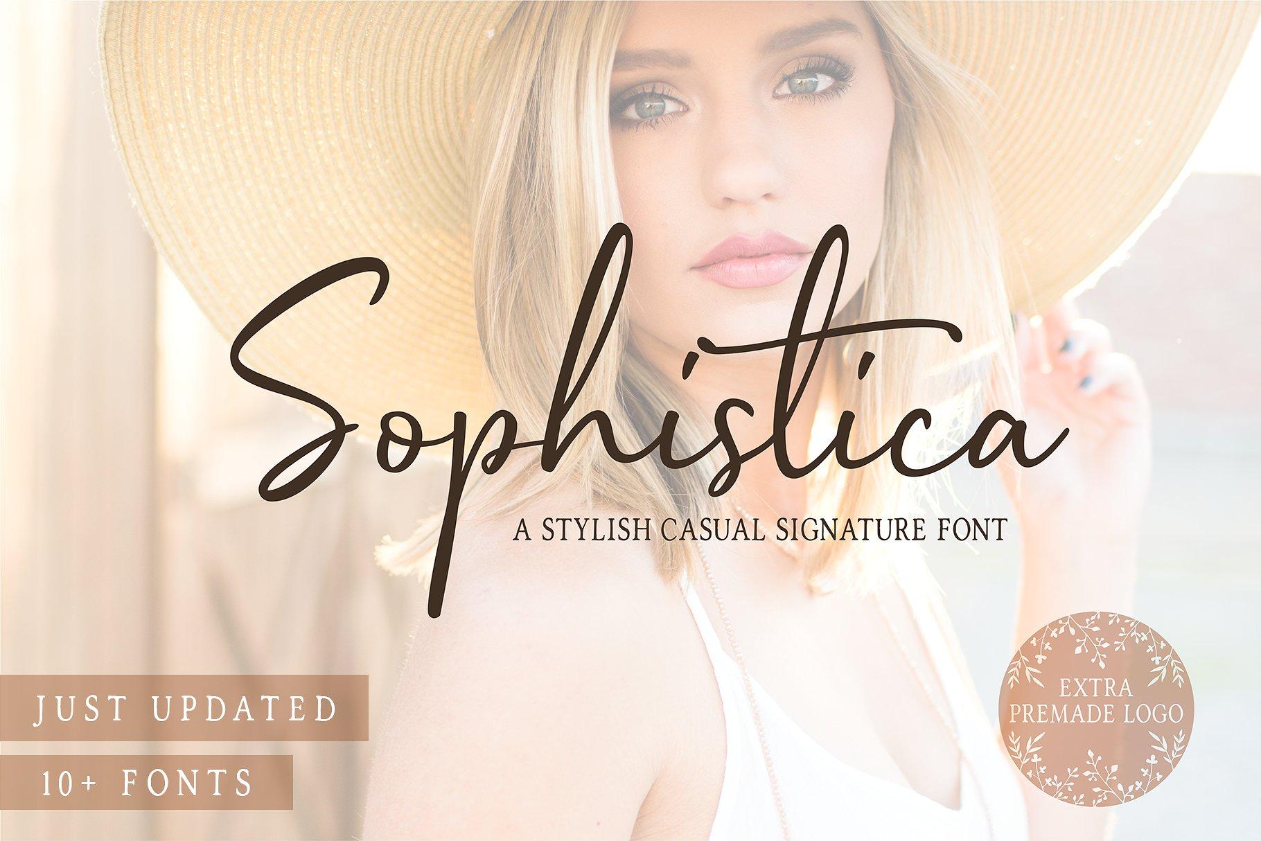 Free Download: Sophistica Font