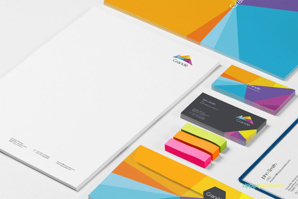 Free Download: 8 Photorealistic Stationery Branding PSD Mockups