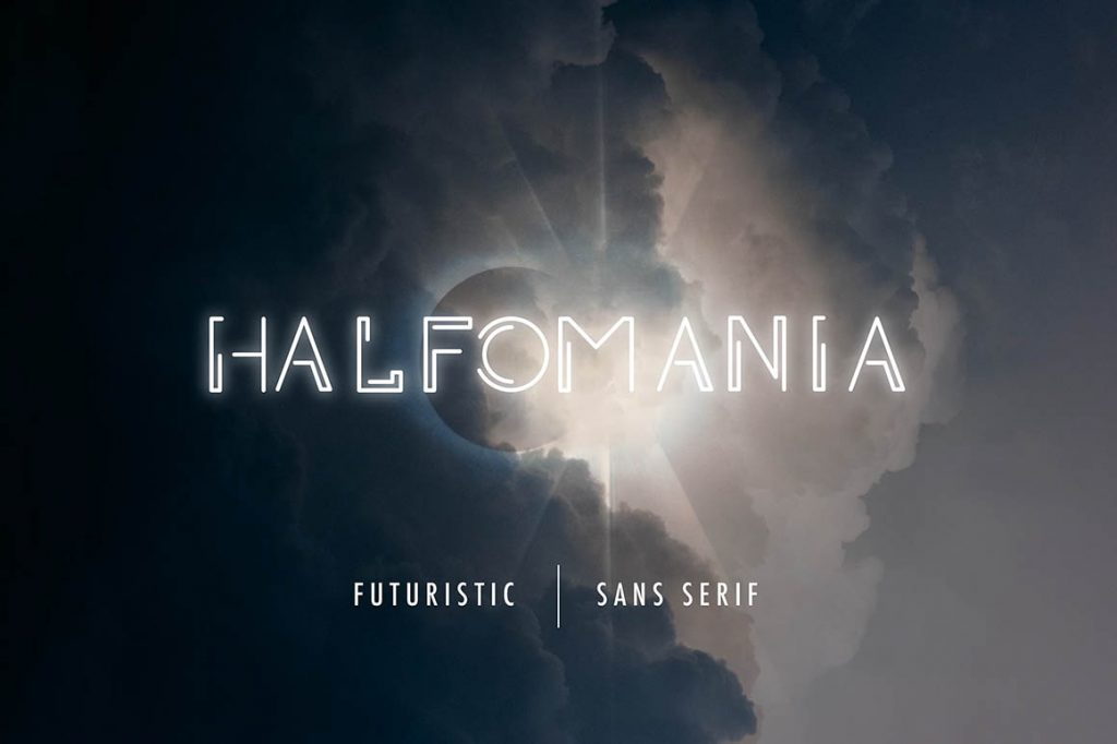 Free Download: Halfomania Font