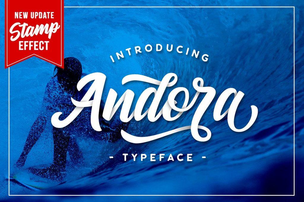 Free Download: Andora Font