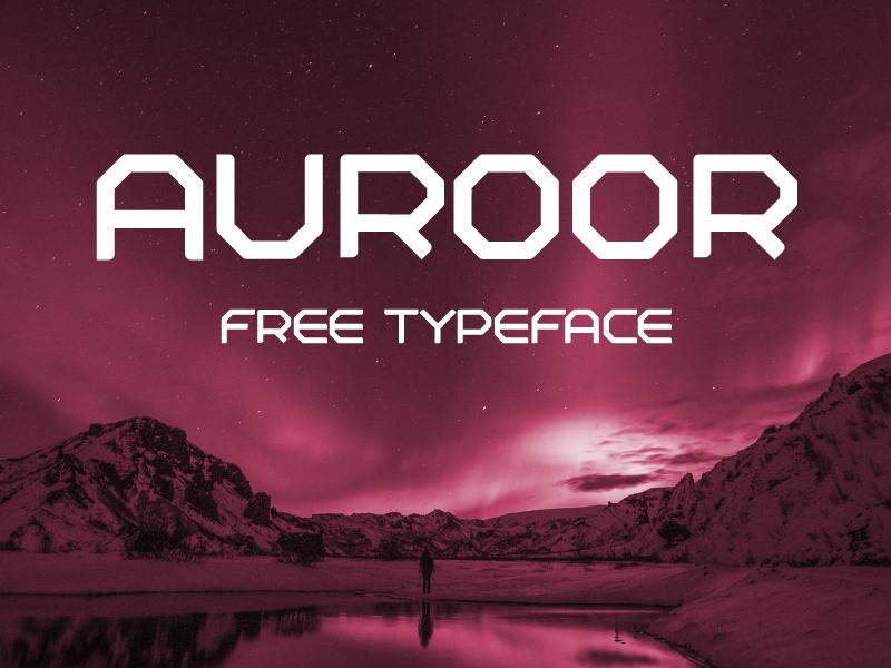 Free Download: Auroor Font