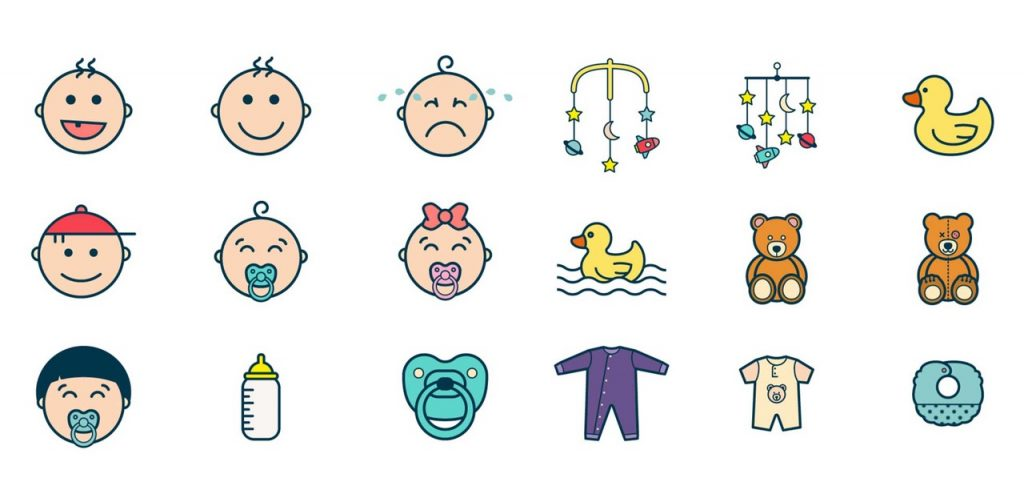 Free Download: Baby Icon Pack