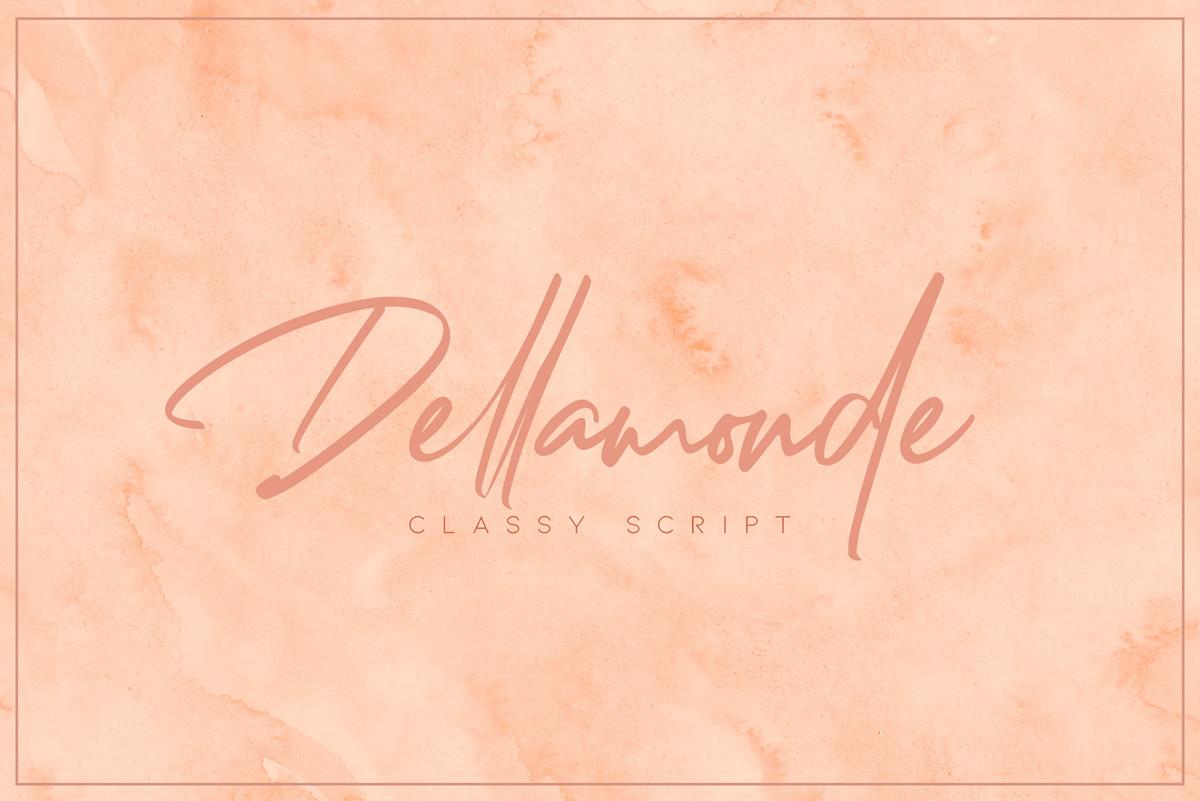 Free Download: Dellamonde Font | Webdesigner Depot