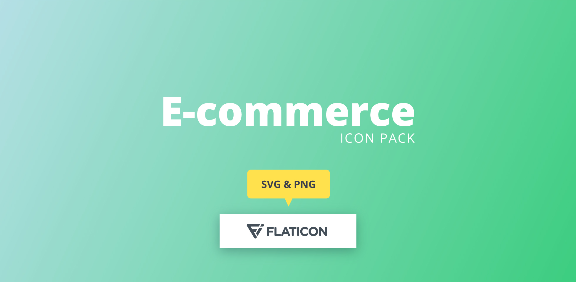 Free Download: E-commerce icon set