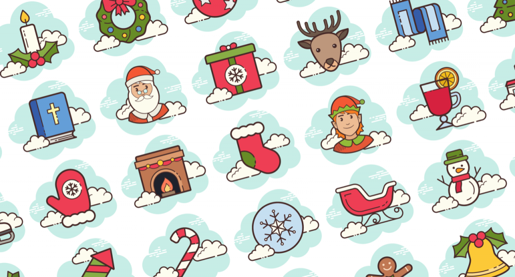 Free Download: 30 Christmas Icons