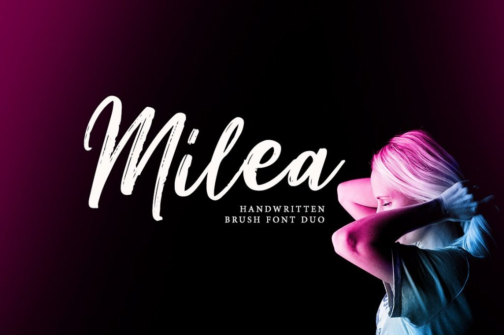 Free Download: Milea Font