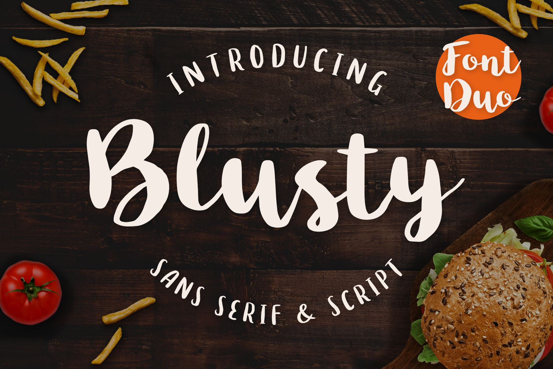 Free Download: Blusty Font