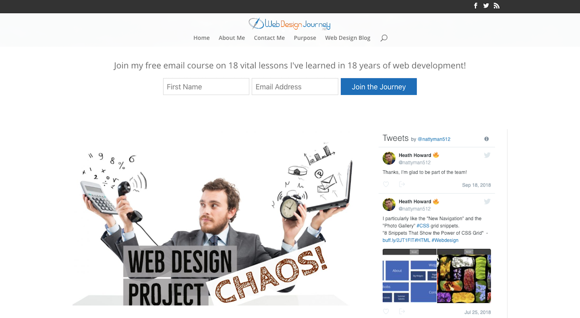 Web Design Journey Course