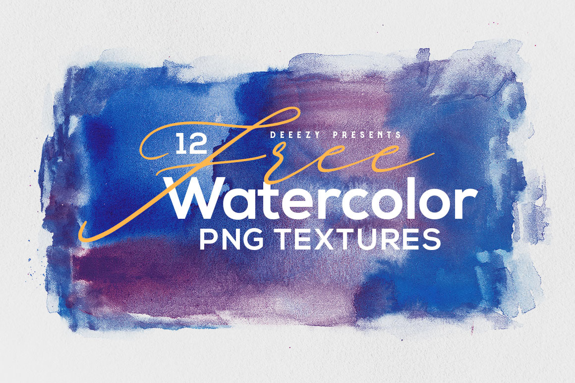 Free Download 12 Abstract Watercolor Textures Webdesigner