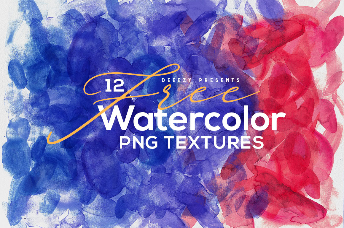 Free Download: 12 Abstract Watercolor Textures