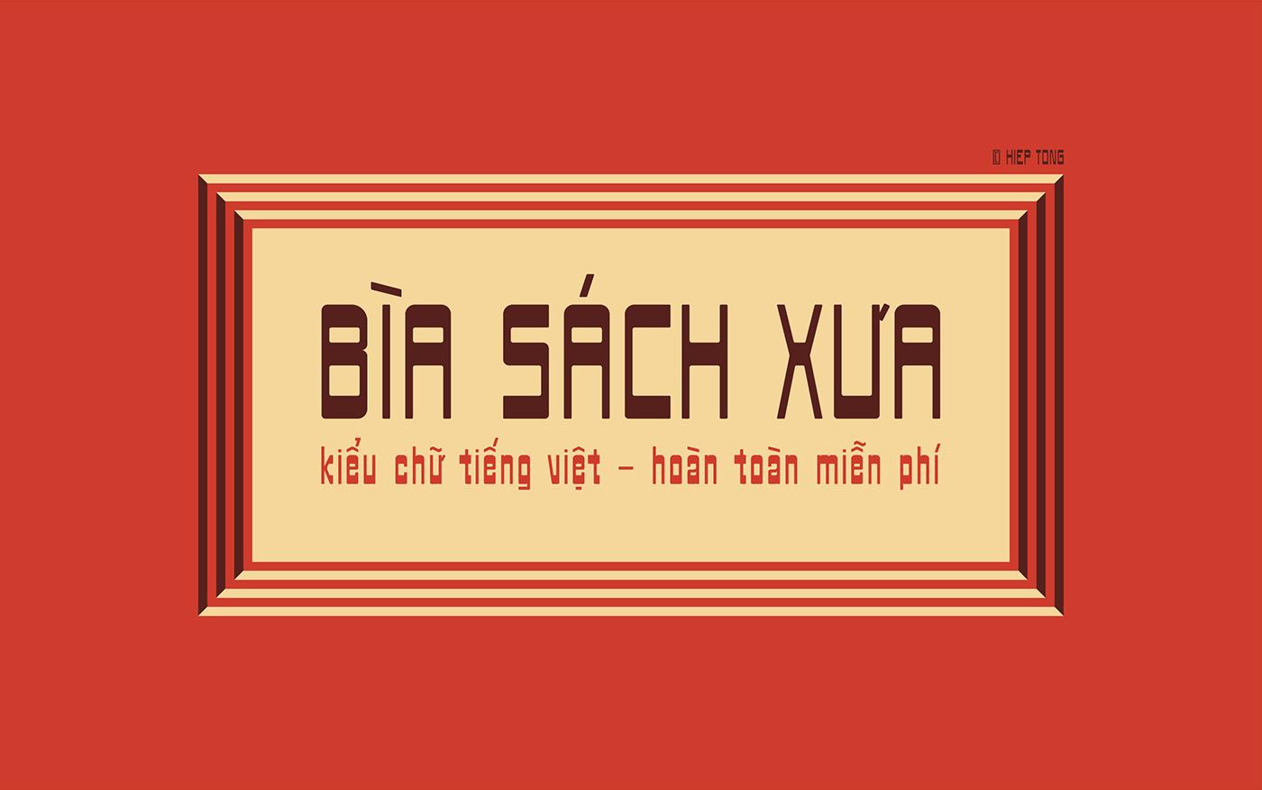 Free Download: Biasachxua Font