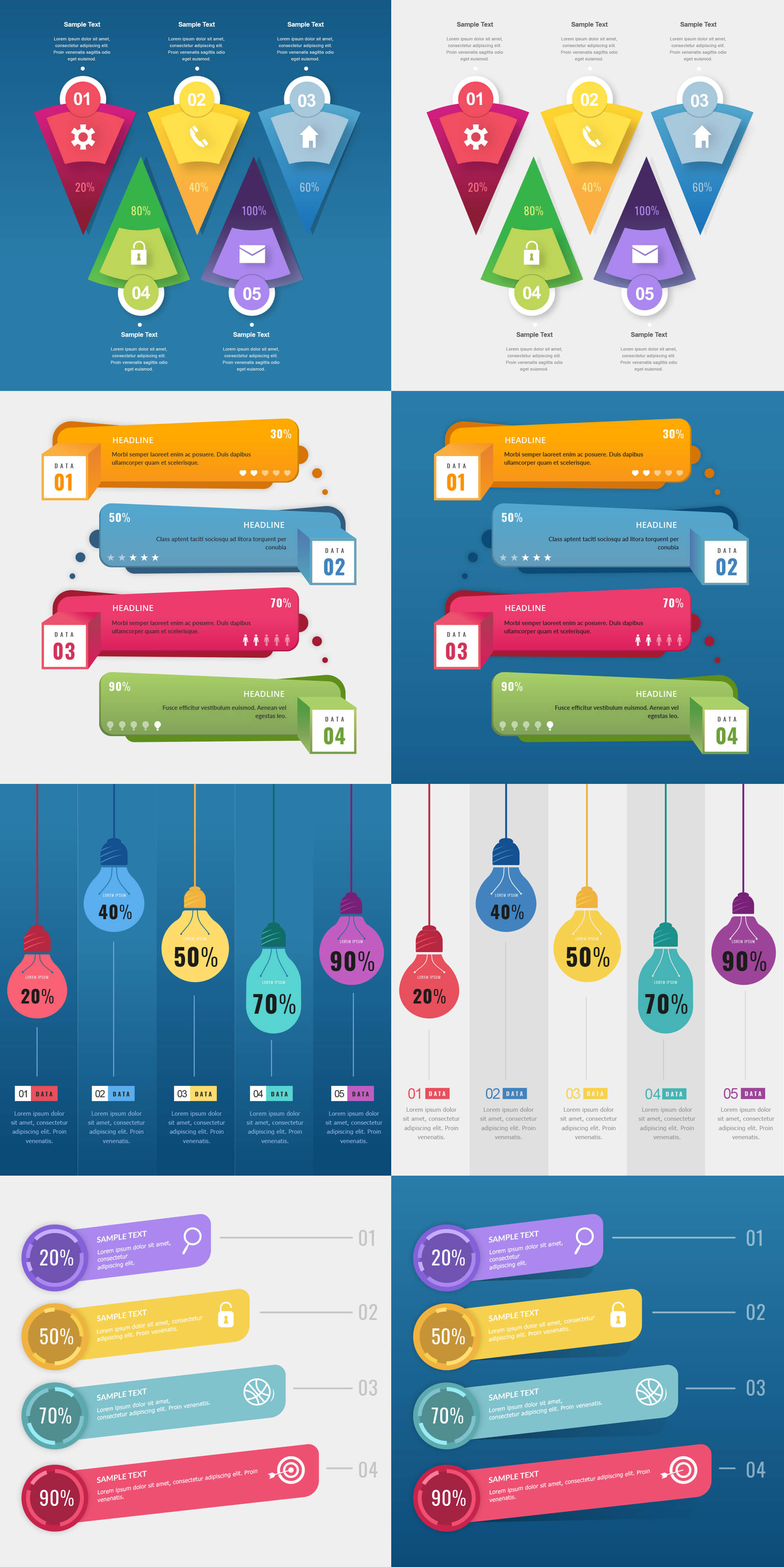 Free Download: Infographic Templates - MightyDeals