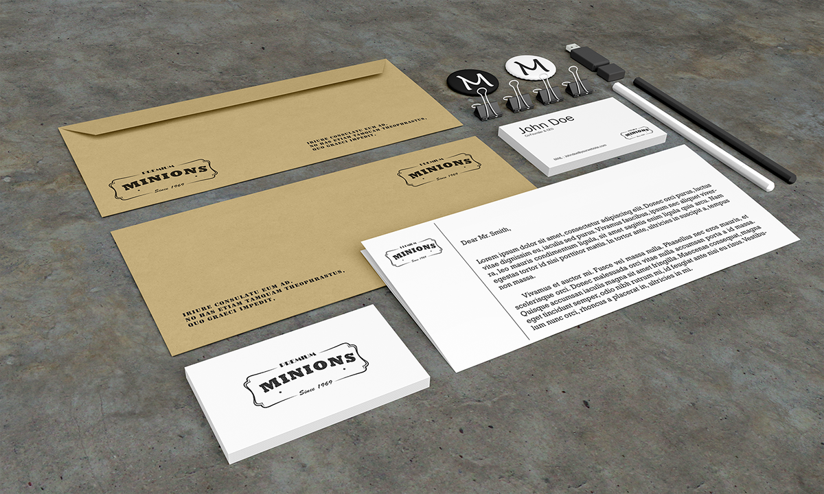 Free Download: Stationery PSD Mockups