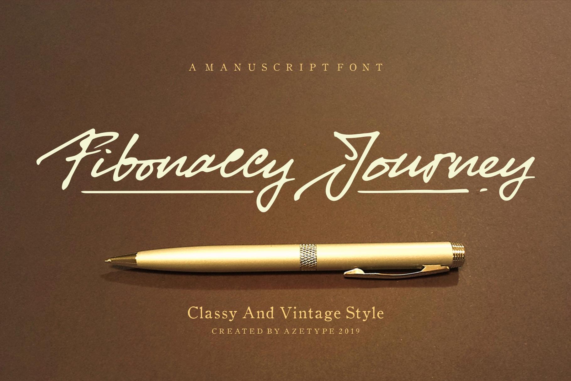Free Download: Fibonaccy Journey Font