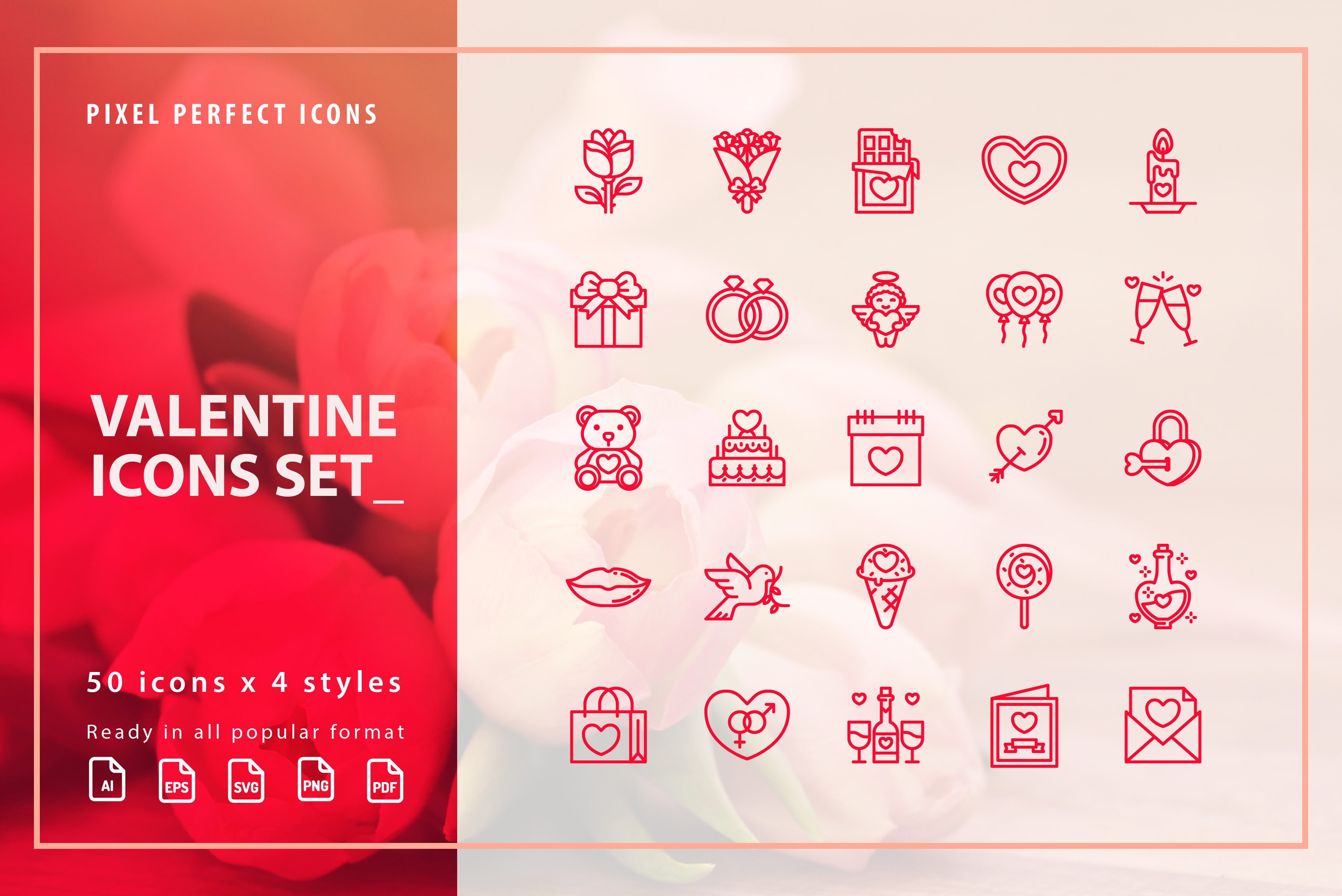 Free Download: Valentine's Day Icon Set