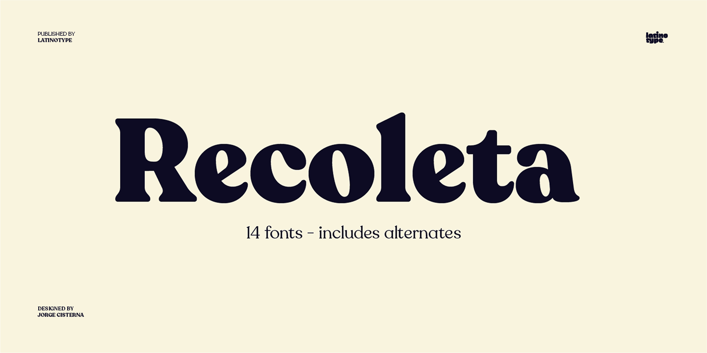 Free Download: Recoleta Regular