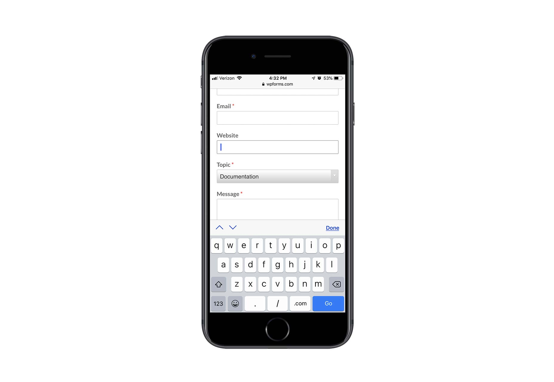 How to Increase Mobile Engagement with Simpler Contact Forms