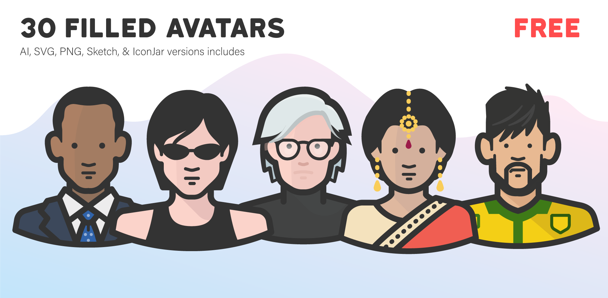 Free Download: Diversity Avatars