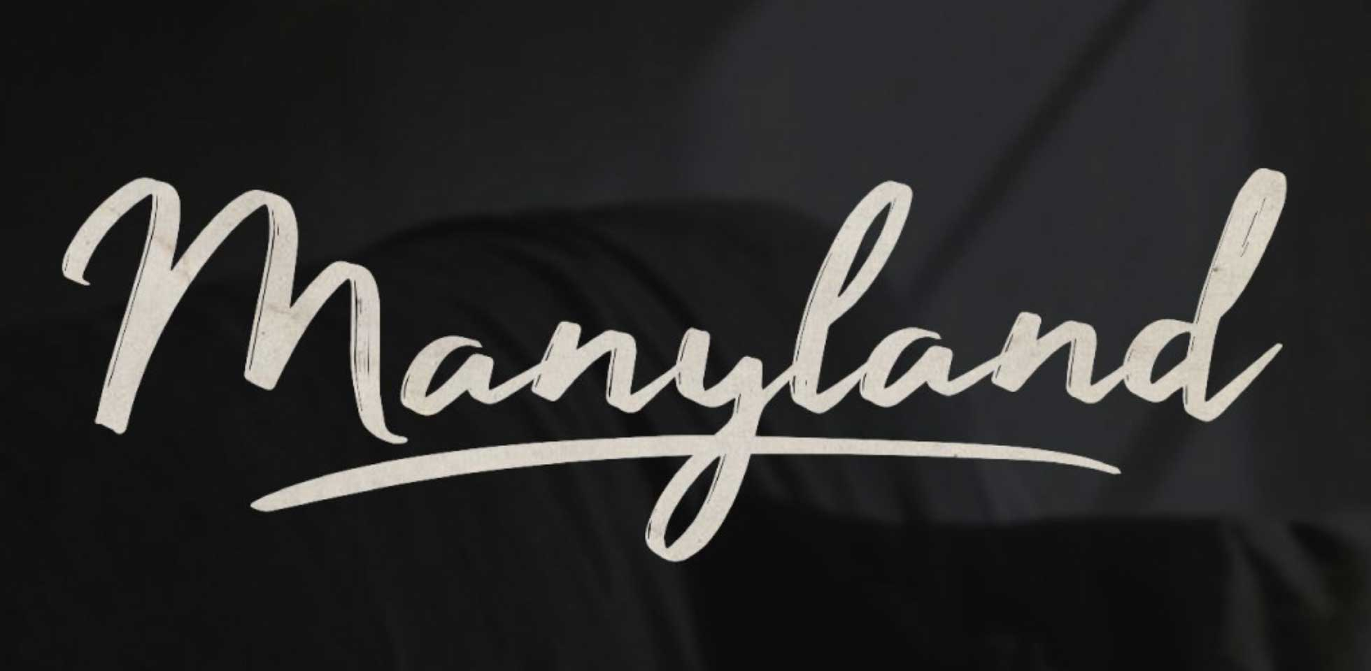 Free Download: Manyland Font