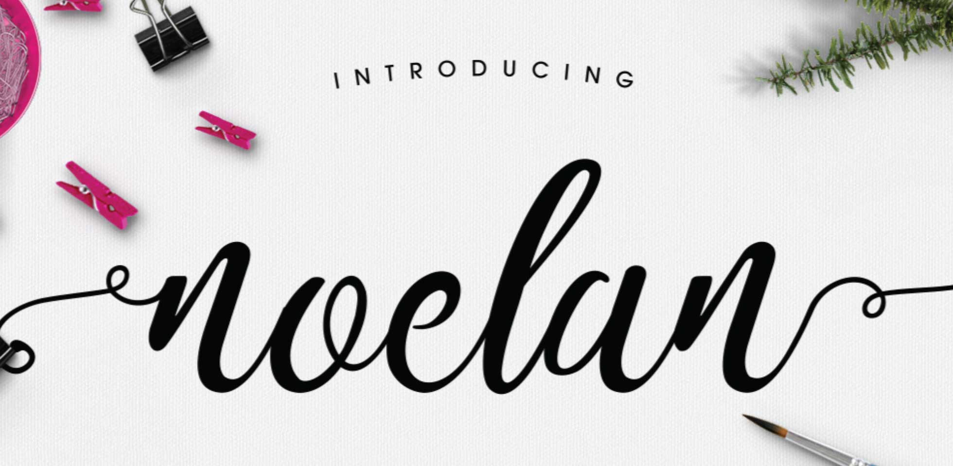 Free Download: Noelan Script