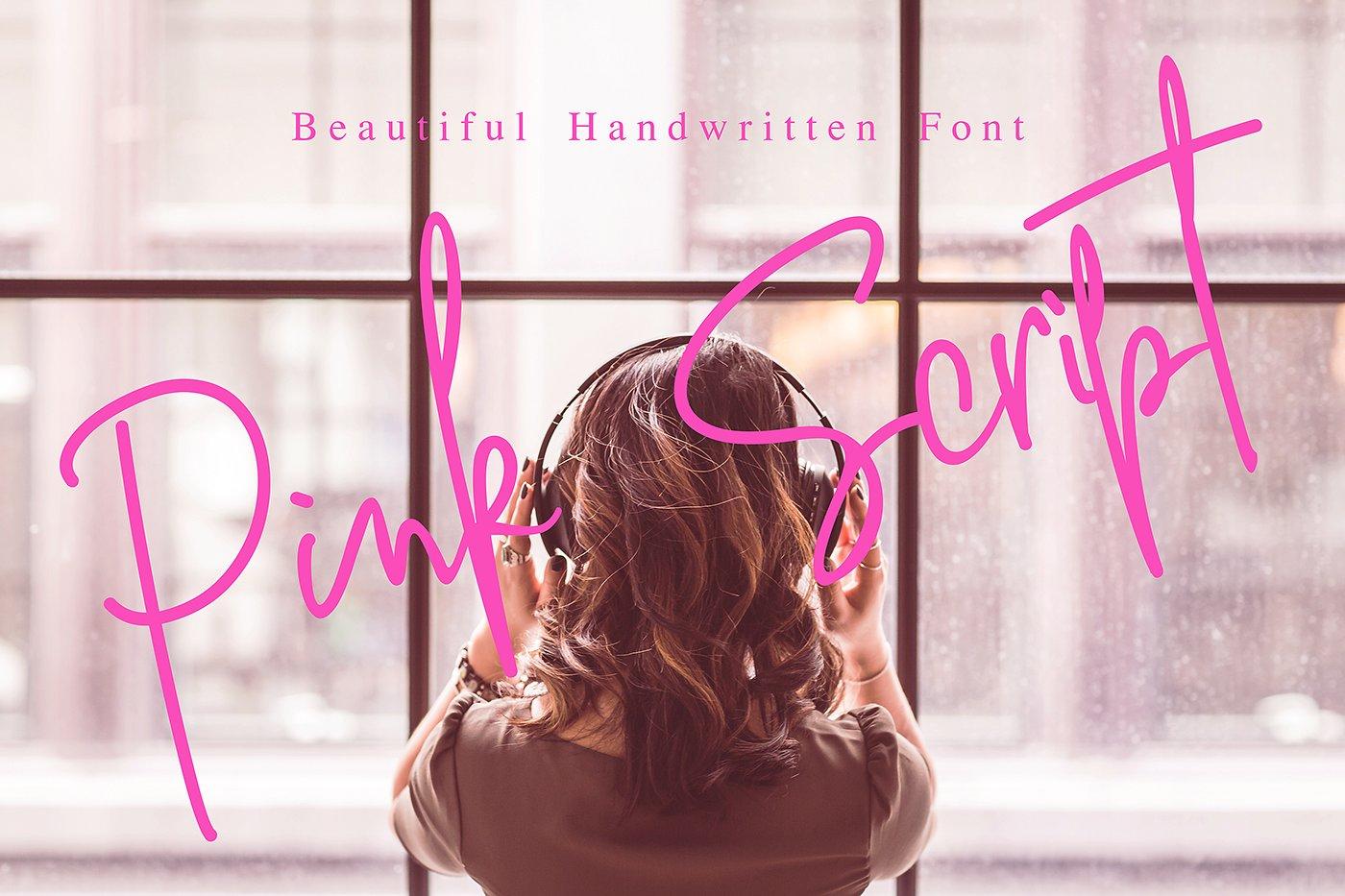 Free Download: Pink Script
