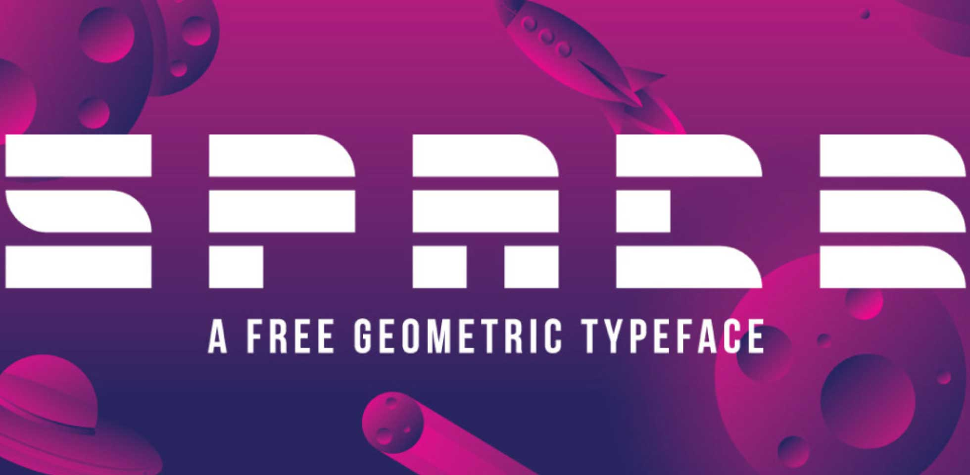 Free Download: Space Font