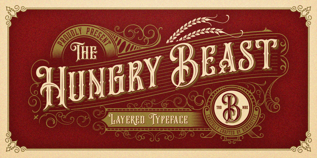 Free Download: Hungry Beast Font