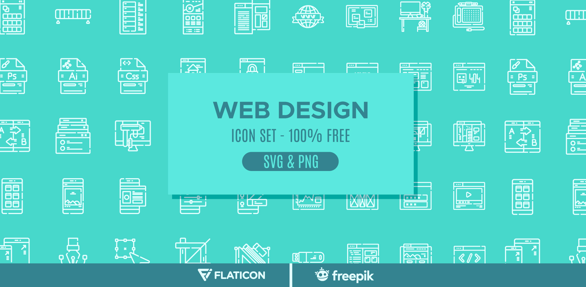 Free Download: Web Design Icon Pack