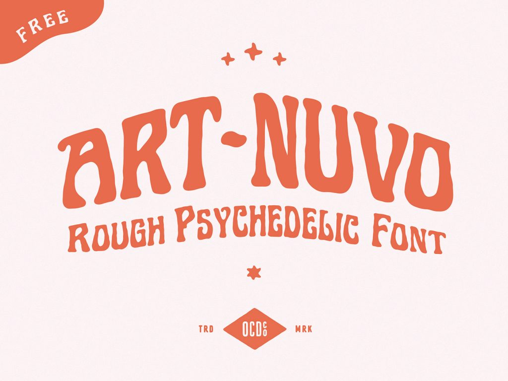 Free Download: Art-nuvo Font