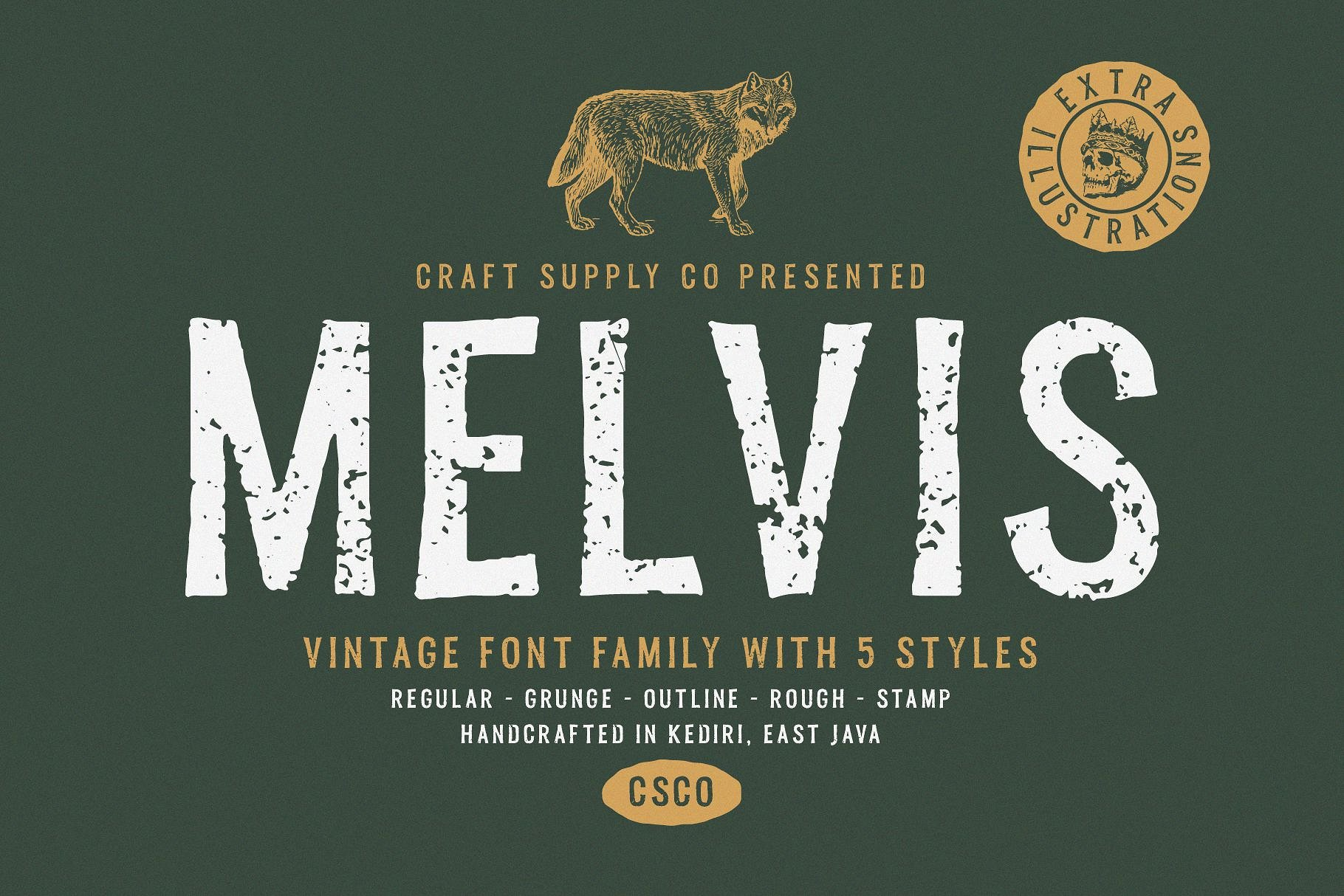 Free Download: Melvis Outline & Melvis Rough
