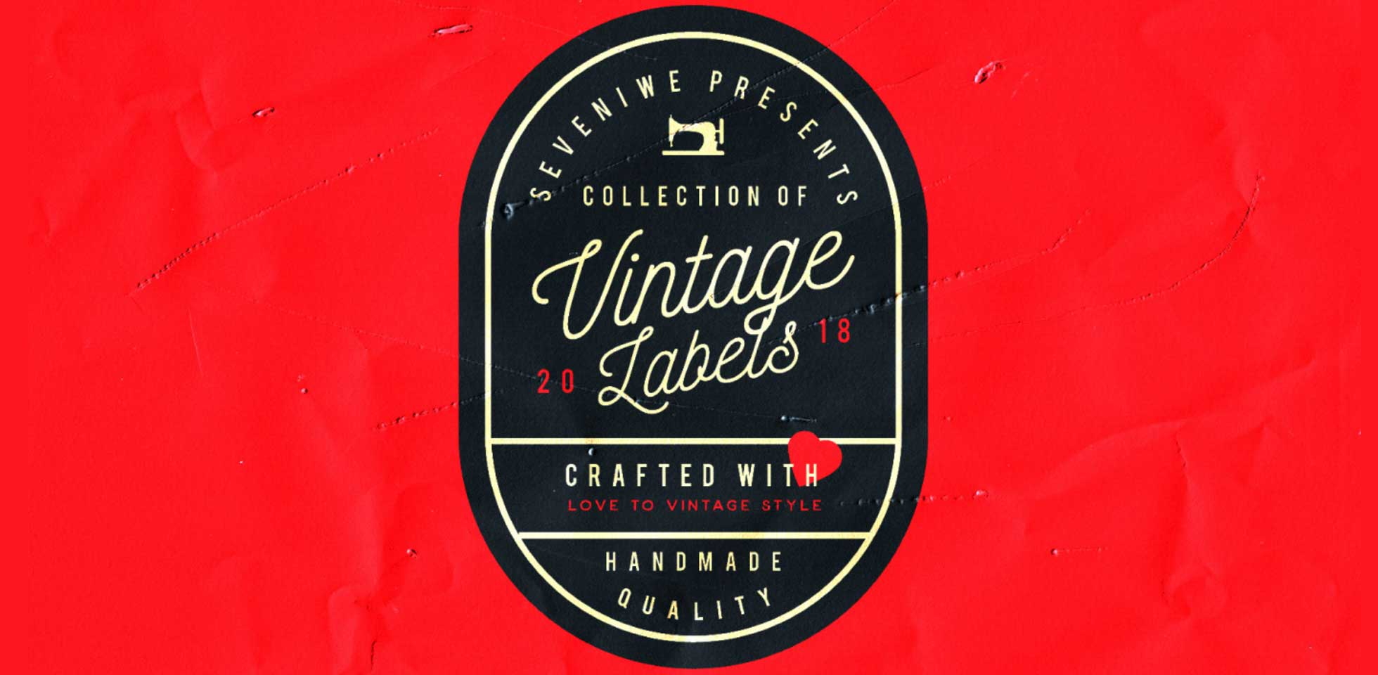 Free Download: Vintage Labels Kit