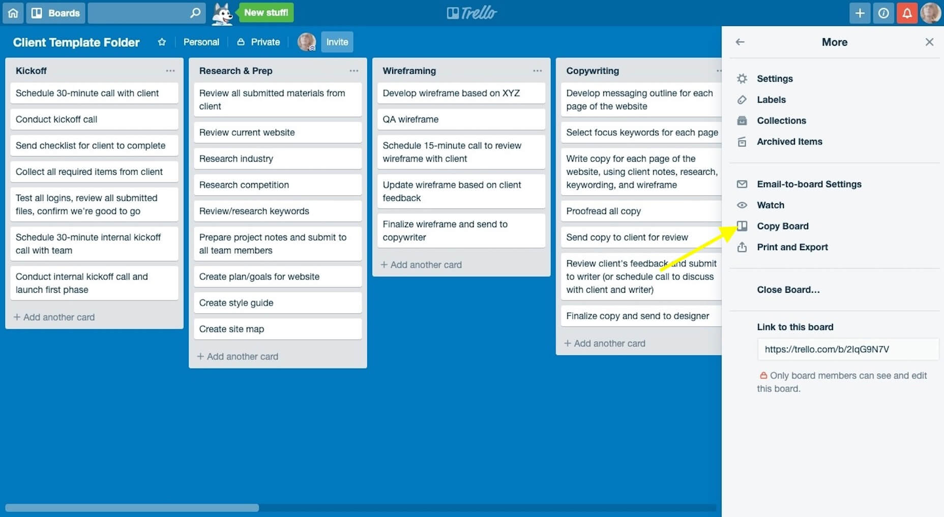 Trello-Copy-Board