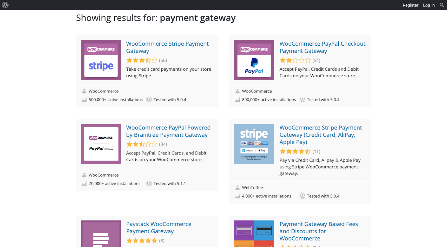 WordPress Payment Gateway
