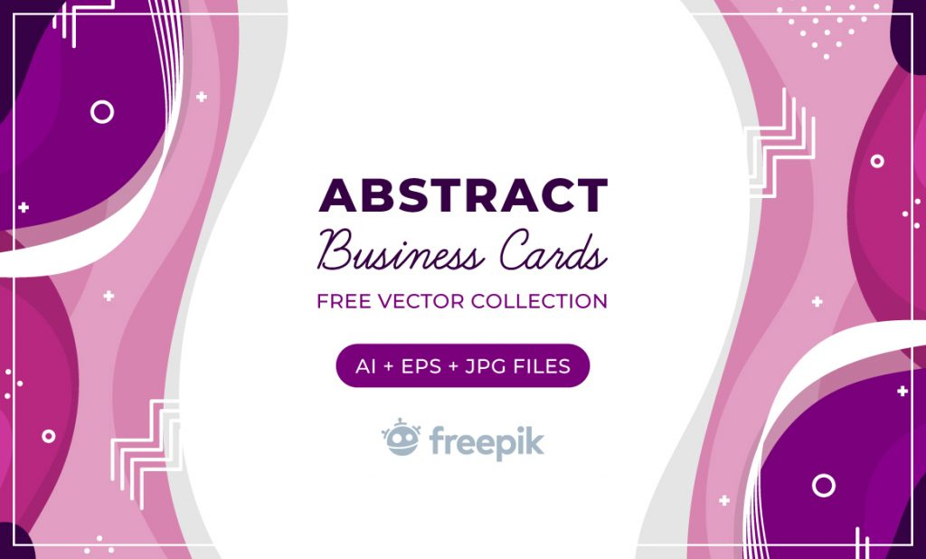 Free Download: Abstract Business Cards
