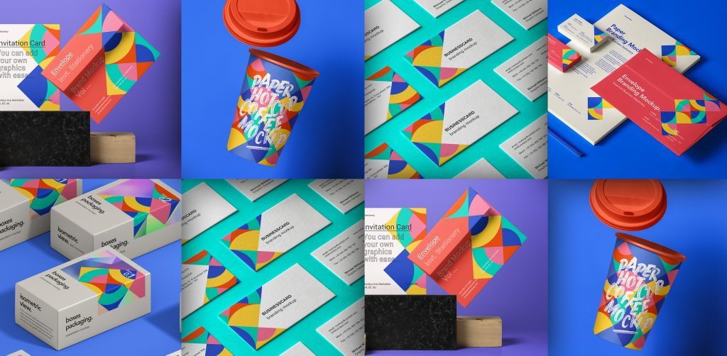 Free Download: Branding Mockup ID Pack from Pixeden