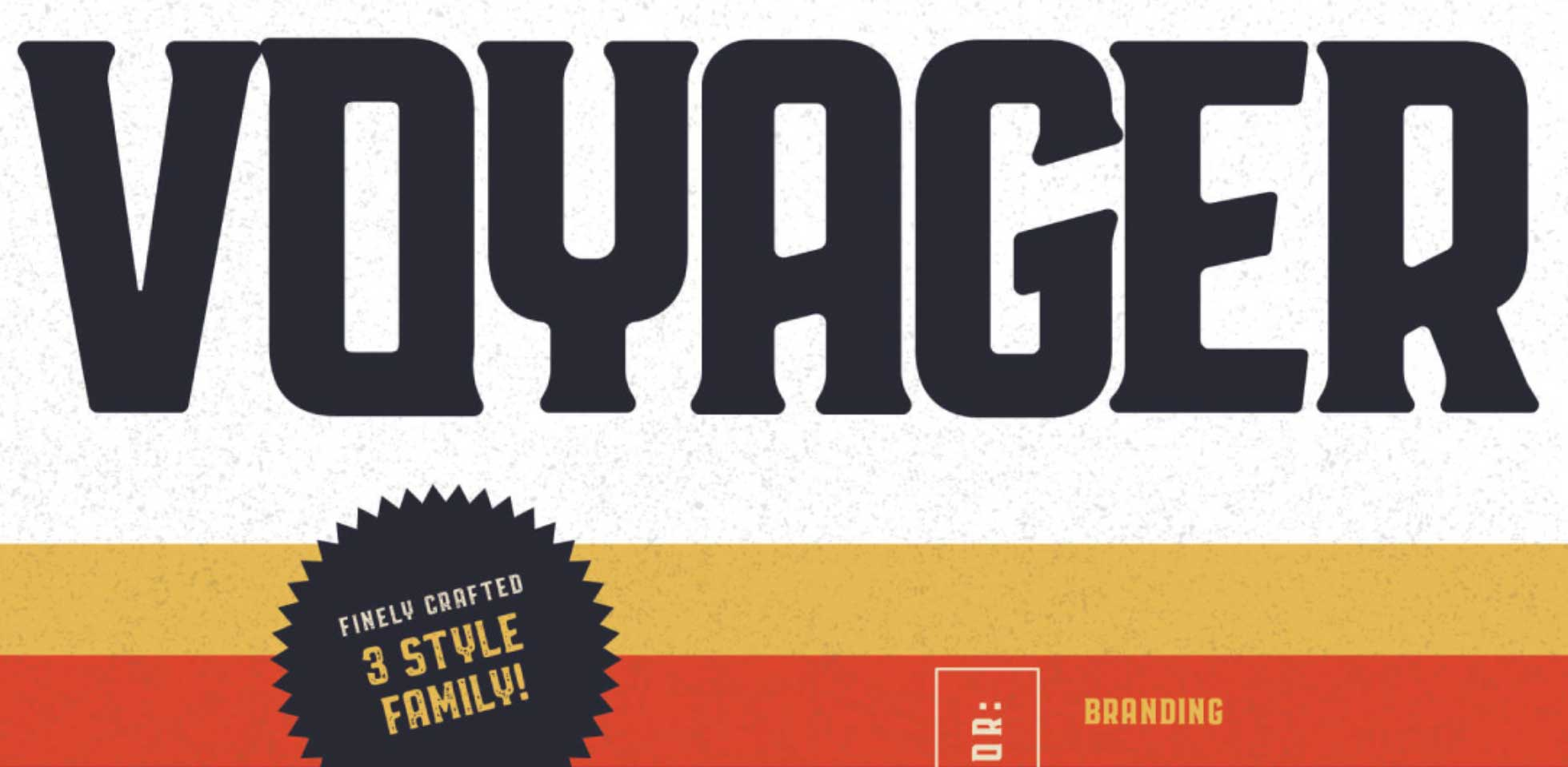 Free Download: Voyager Typeface