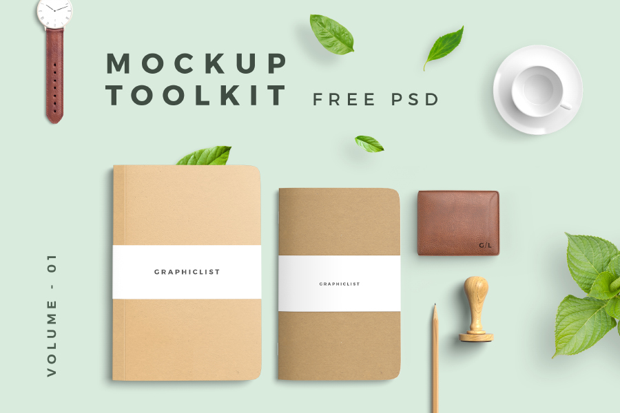 Free Download: Mockup Toolkit