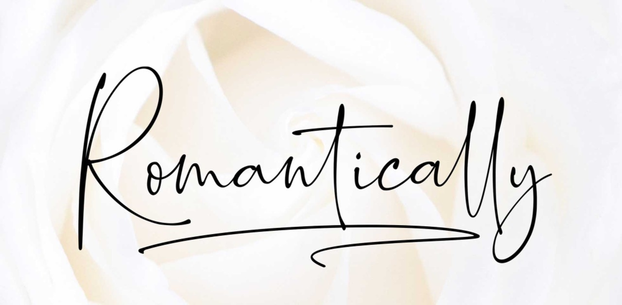 Free Download: Romantically Font