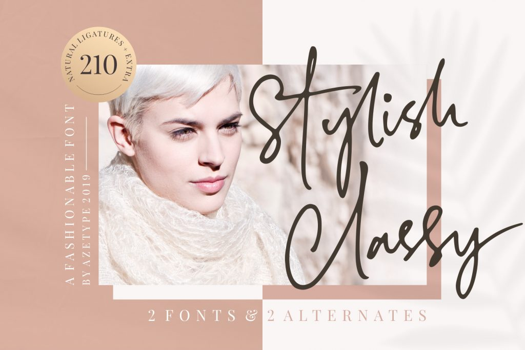 Free Download: Stylish Classy Font Duo
