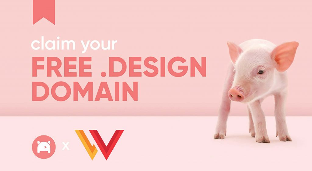 Claim Your Free .design Domain
