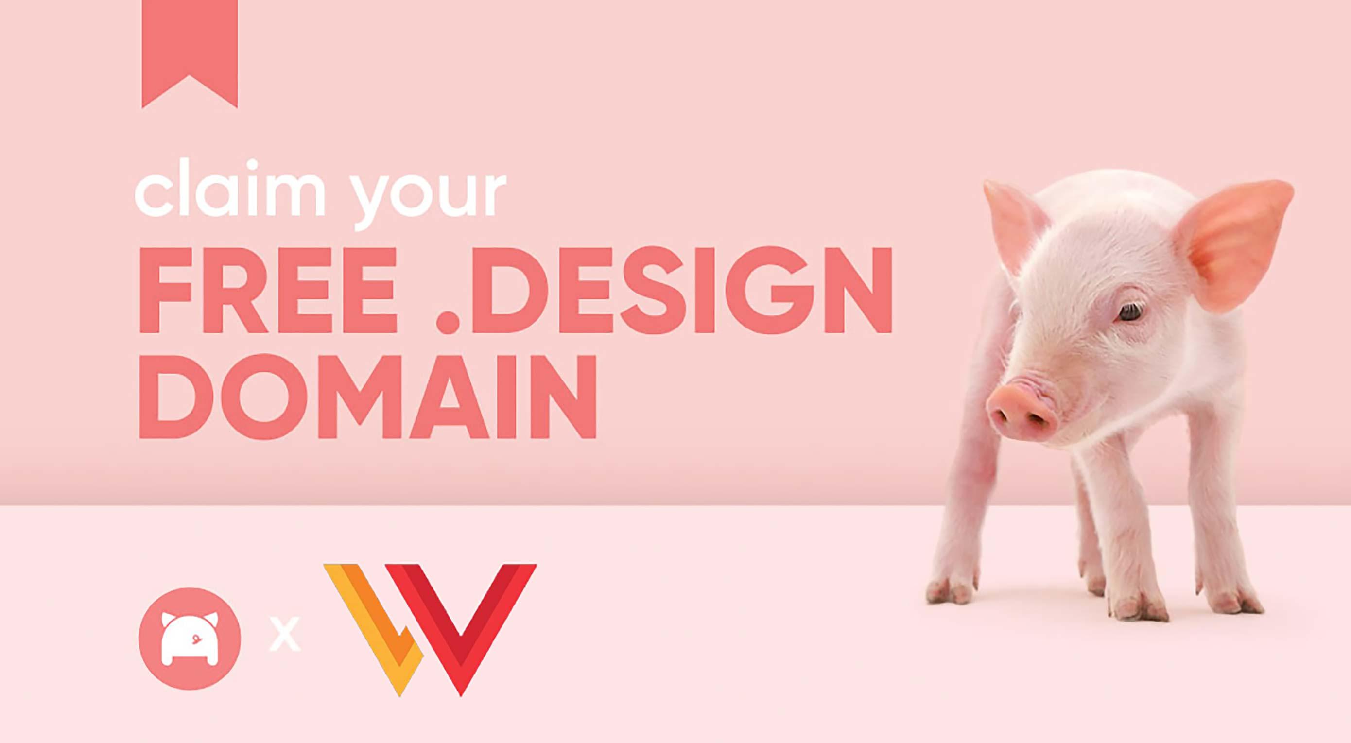 Claim Your Free .design Domain