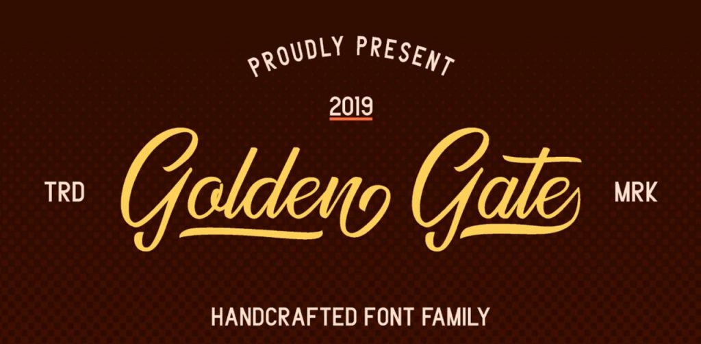 Free Download: Golden Gate Font Duo