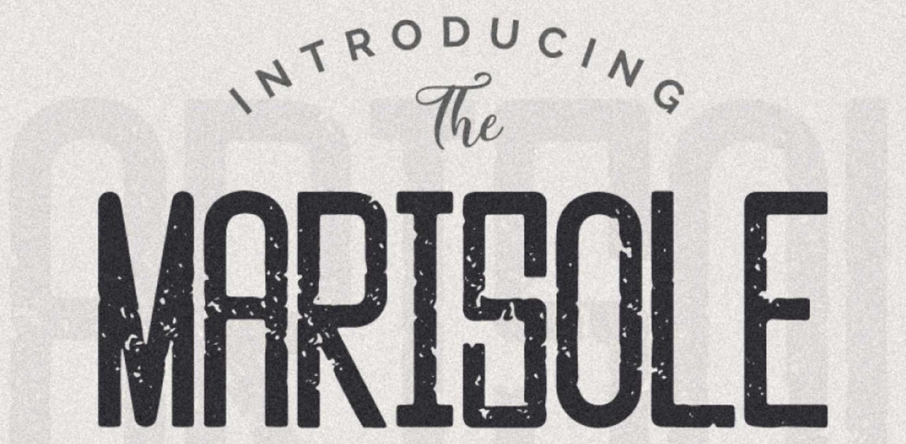 Free Download: Marisole Condensed Font