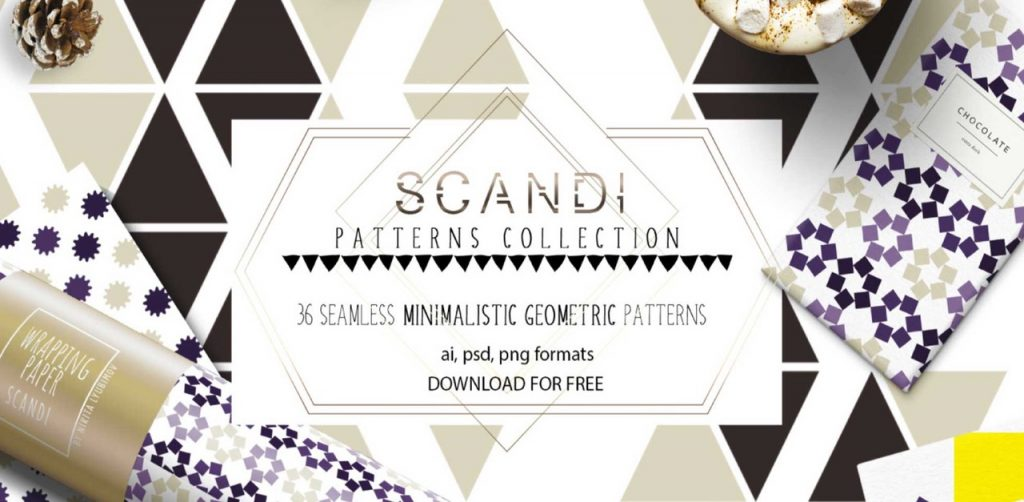 Free Download: Scandi Patterns Collection