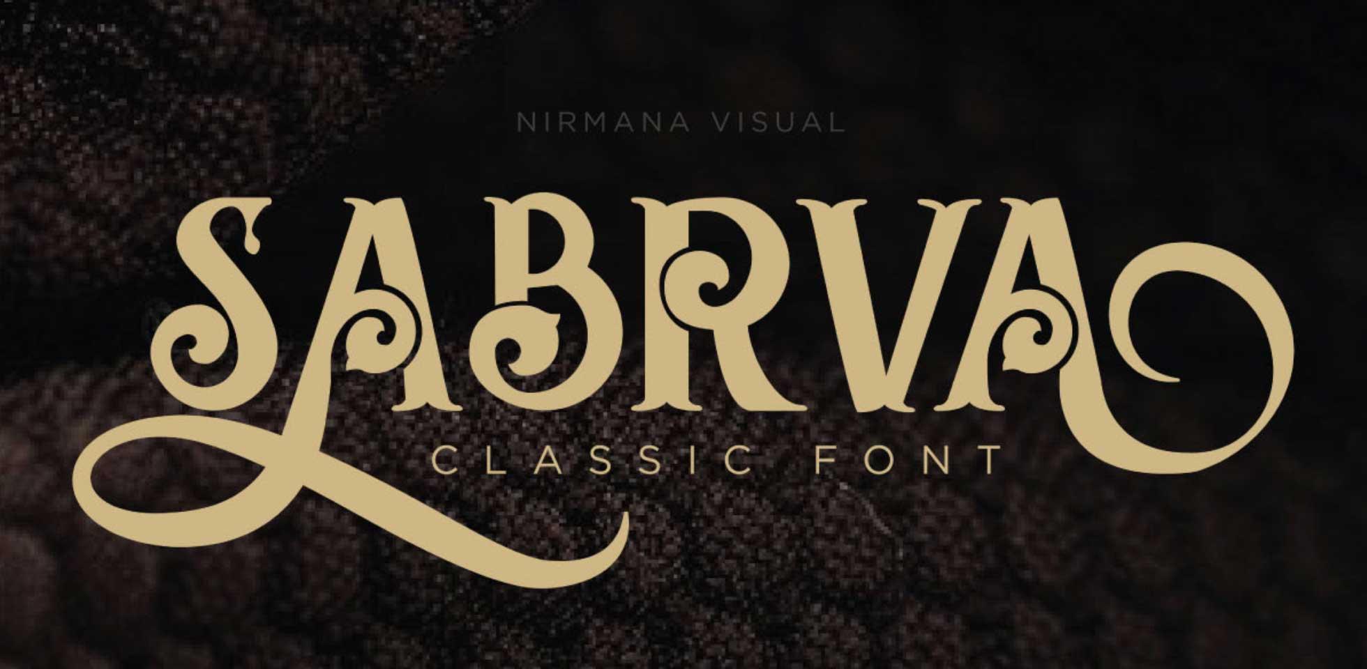 Free Download: Sabrva Classic Font