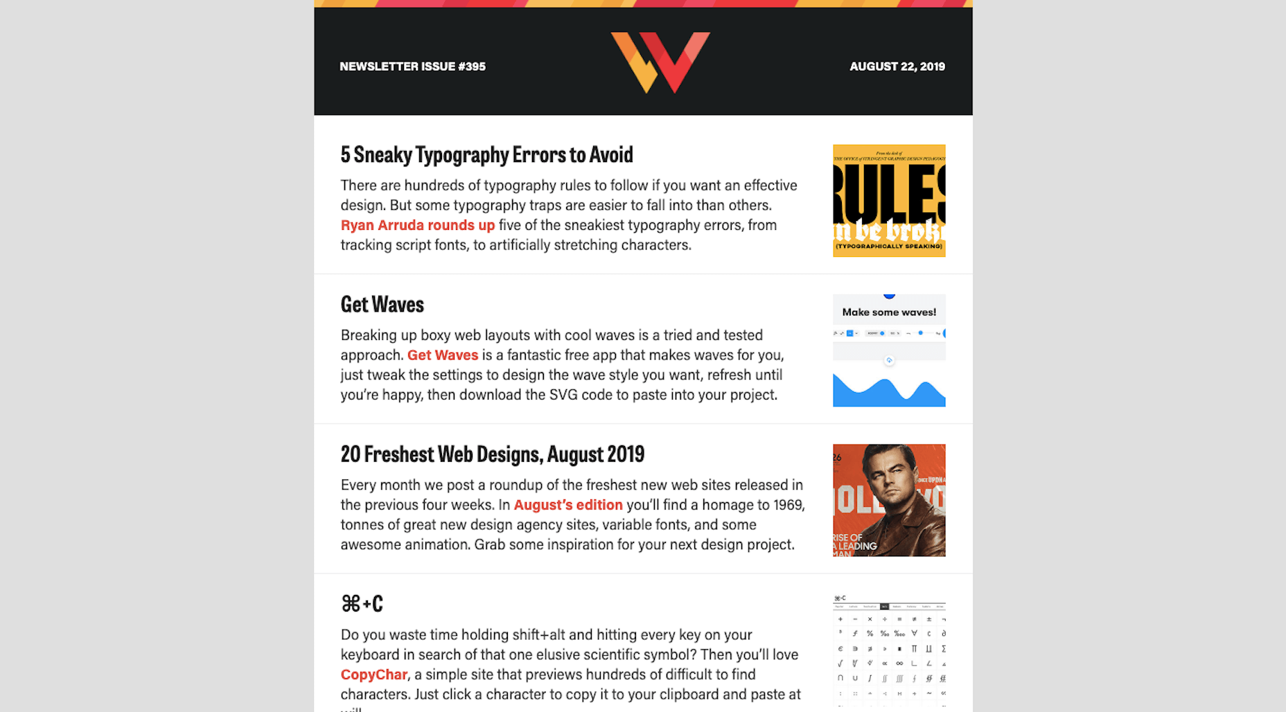 WDD Newsletter