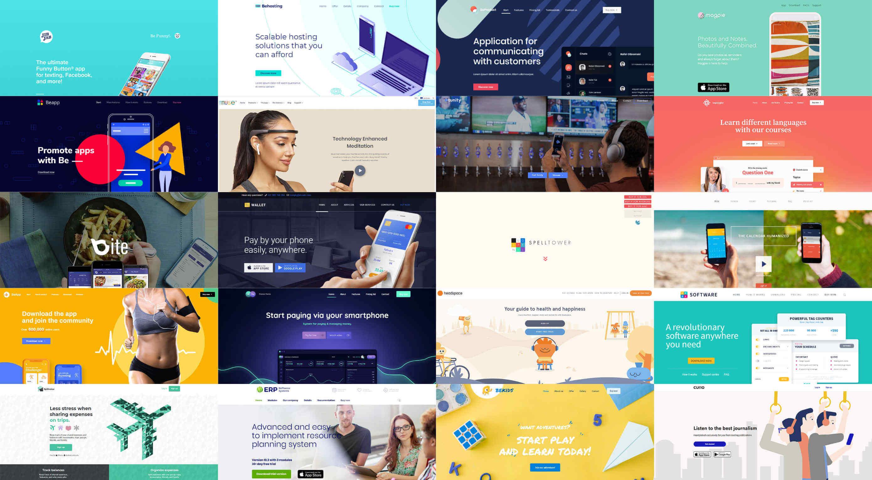 Mobile App Website Inspiration: 20 Application Websites And Tips To Design One