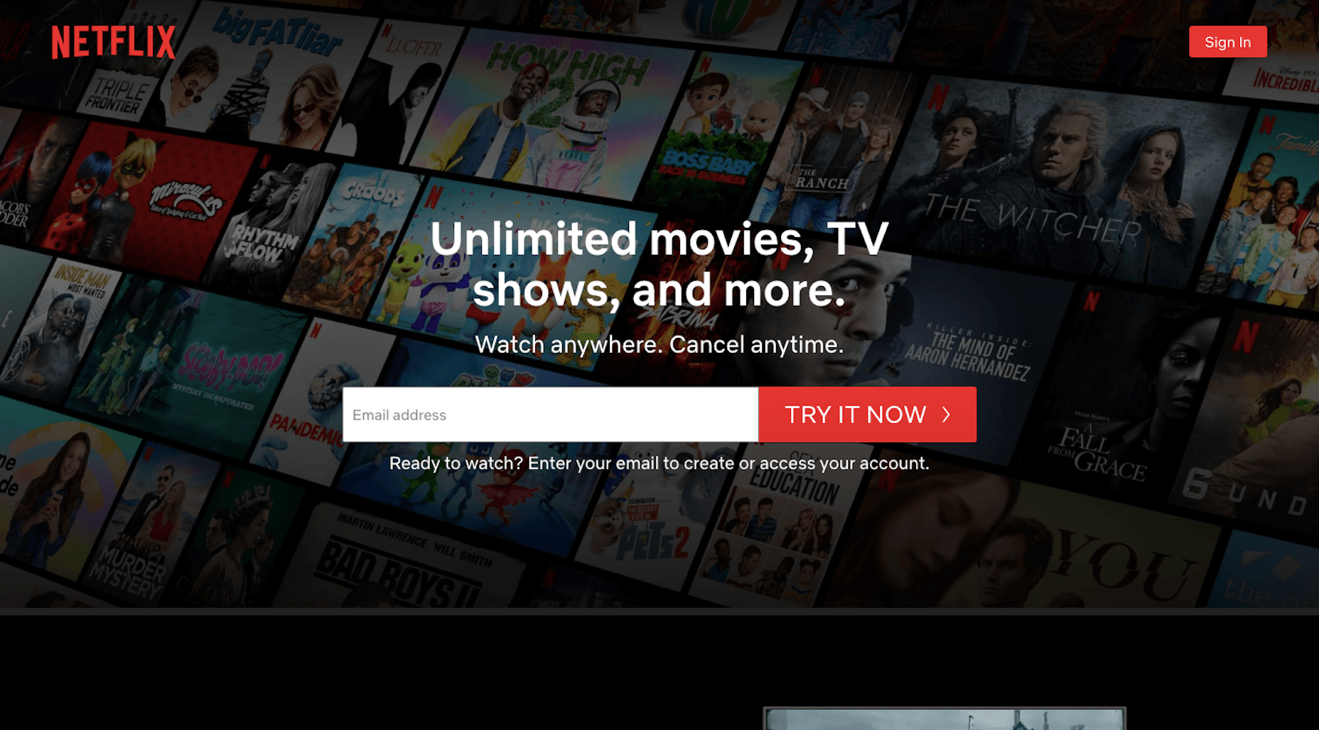 Netflix UX Lessons - Make Onboarding Painless